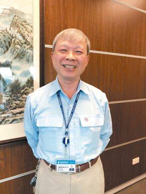 中碳董事長林弘男。 本報系資料庫