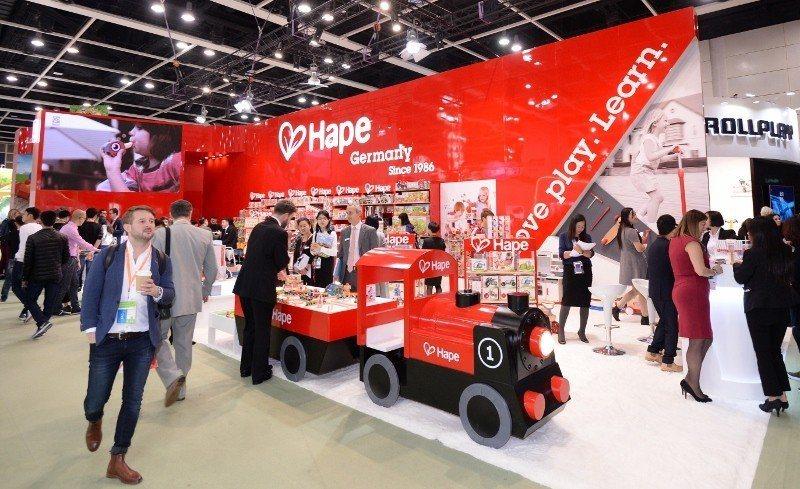 香港玩具展(如圖)將與香港嬰兒用品展、香港國際文具展同期舉行。