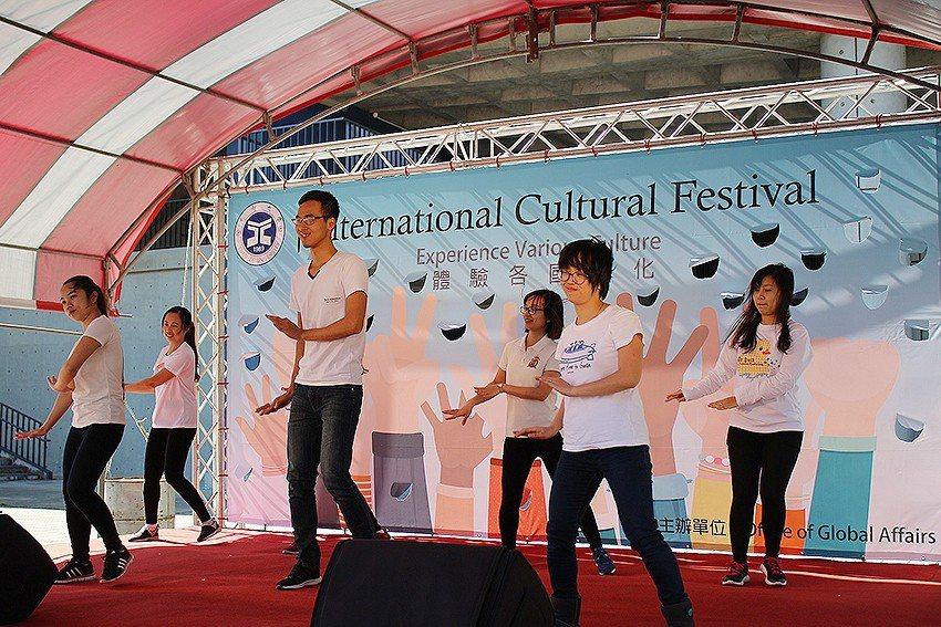 越南同學表演。 元智大學/提供
