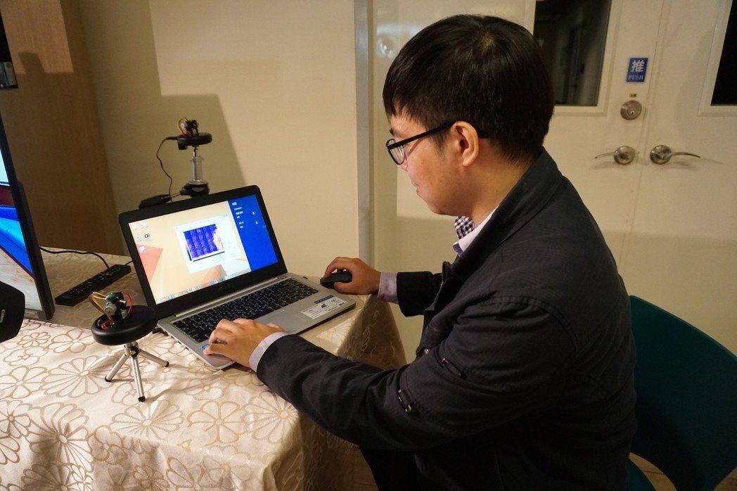 工研院研發的高畫素影像掃描辨識模組,可在後台進行智能辨識,具高度隱私性。工研院/...