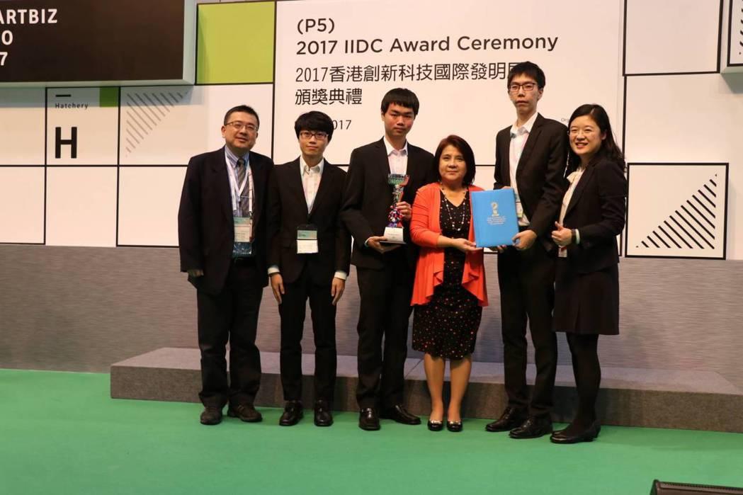 景文科大奪得1金及大會傑出創新特別獎。