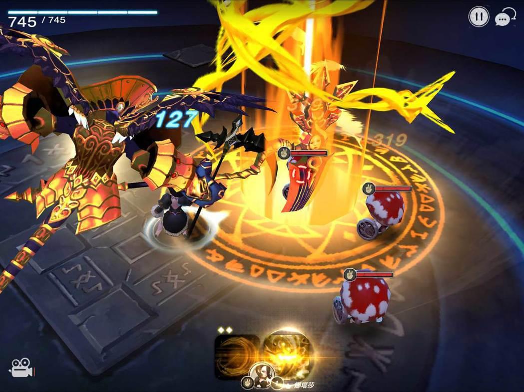 5星英雄娜塔莎(剪刀)技能「死神」。