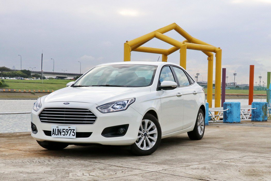 Ford Escort。 記者陳威任/攝影