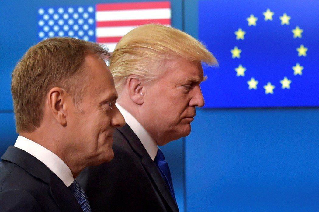 對於川普的減稅案,歐盟已發出哀號。 圖/路透社