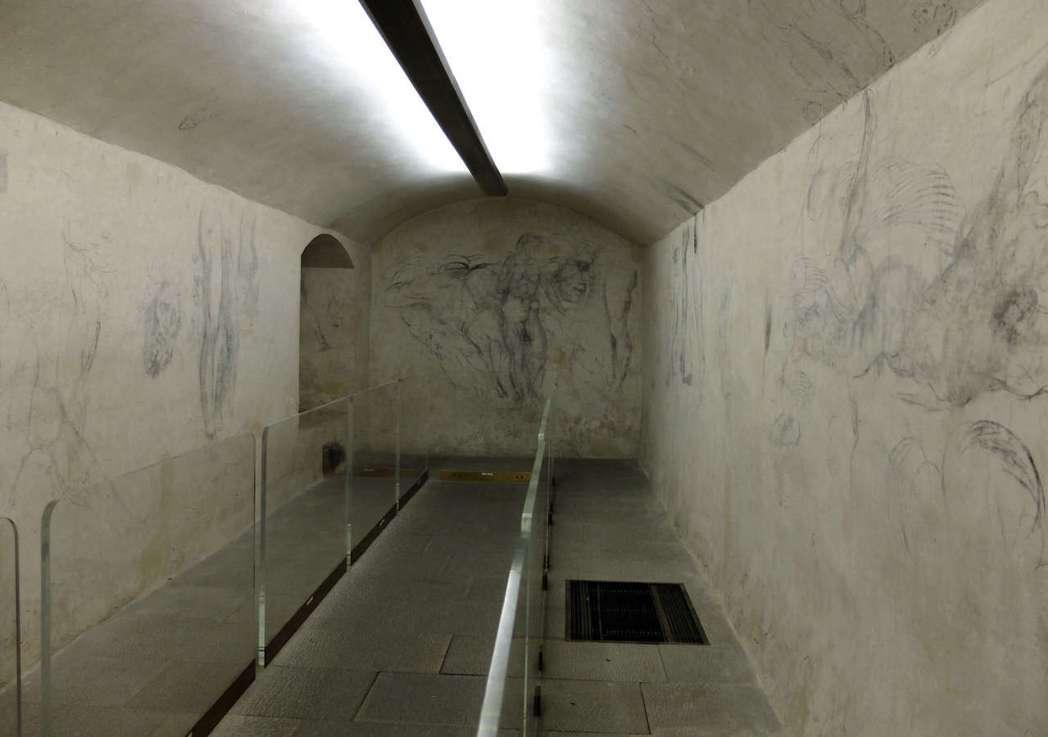 從來沒有文獻提過其存在的這間米開朗基羅小密室,裡面藏了什麼樣的秘密? 圖/法新社