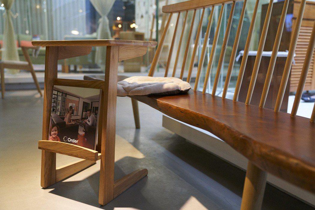 優渥實木家具。 圖/邱鈺鋒 攝影