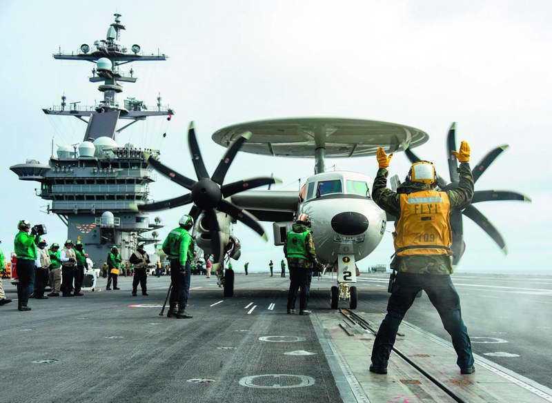 川普將中國定調為戰略競爭對手後,有待觀察台灣是否成為川普操作美中關係槓桿。 翻攝...