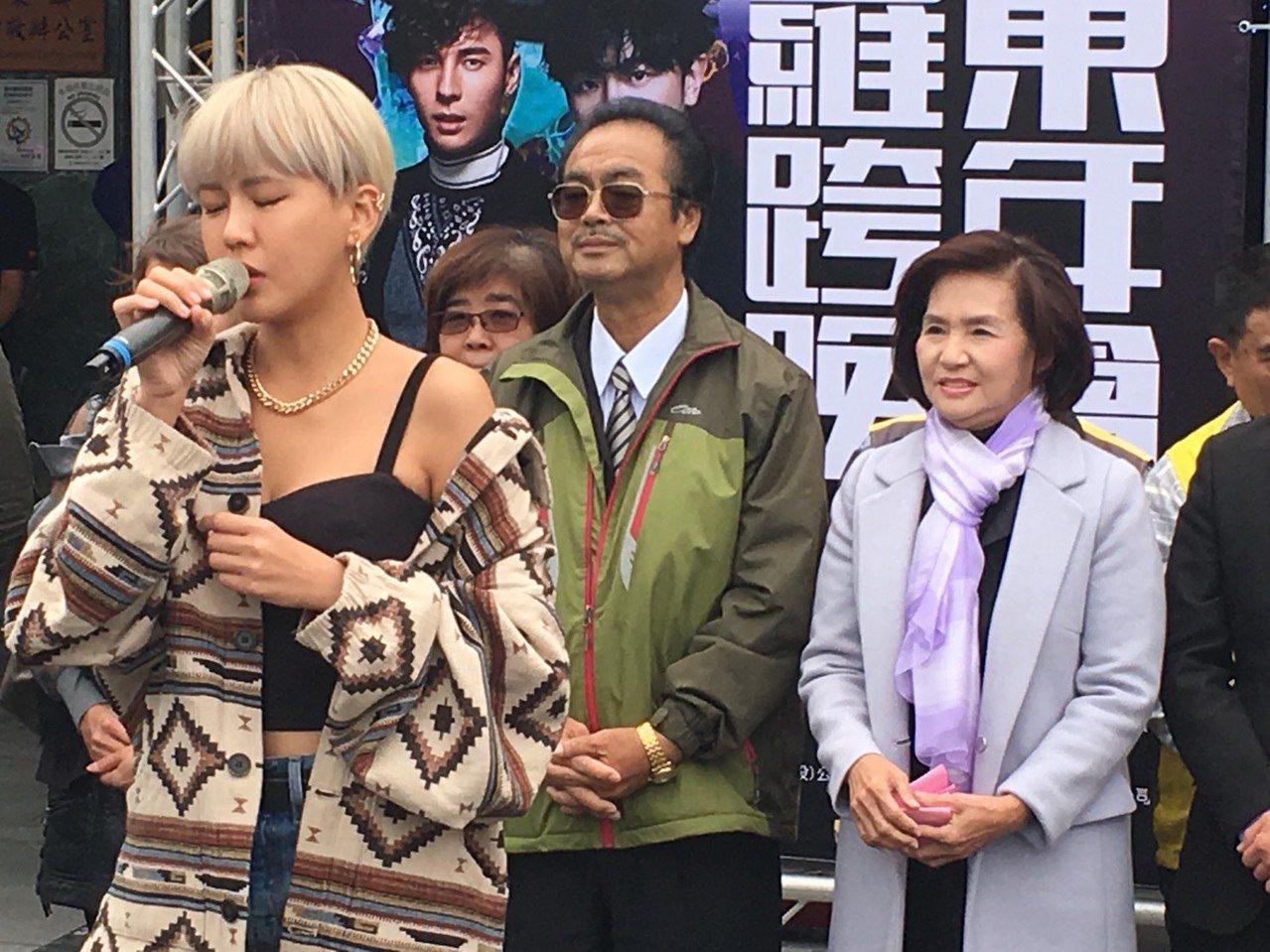 全能女聲「盧瑮莉」即將在羅東跨年晚會上登場演出。圖/羅東鎮公所提供