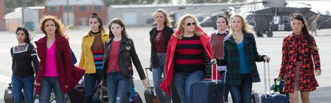 受到全球影迷歡迎的「歌喉讚」系列最終極美聲女力對決「歌喉讚3」,找回原班人馬安娜坎卓克、瑞貝爾威爾森、海莉史坦菲德、布蘭妮史諾、安娜坎普、哈娜梅李、艾絲瑟迪恩、艾莉西斯奈普、克莉希菲特、凱莉潔柯、雪...