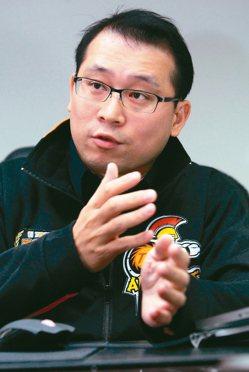 曜越董事長林培熙。 報系資料照