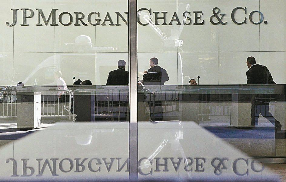 華爾街今年業績排行榜出爐,小摩投銀業務稱冠同業。 (本報系資料庫)