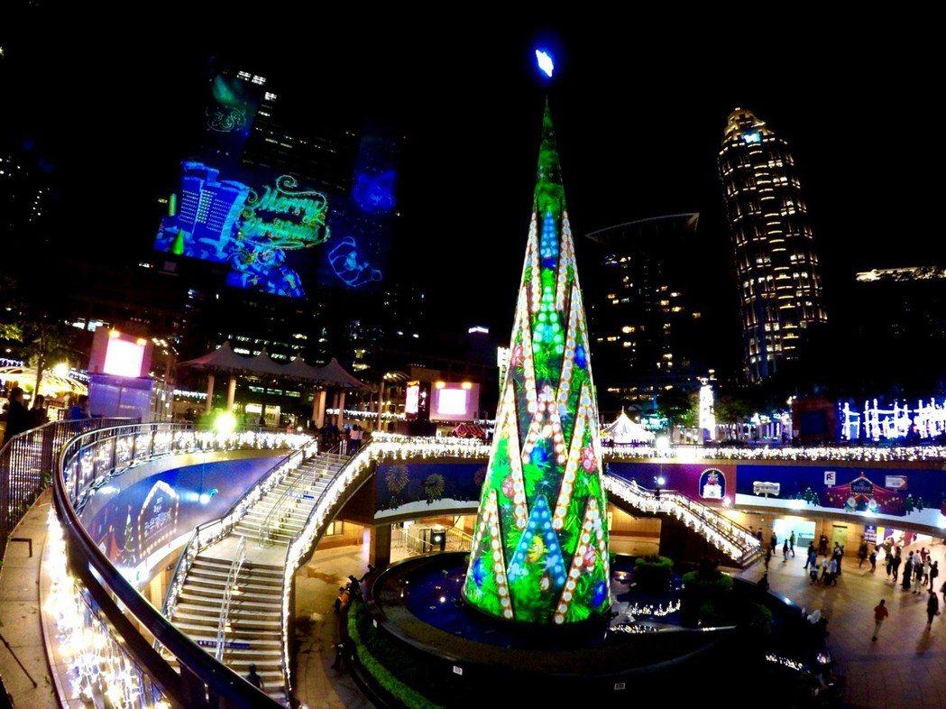 新北將舉辦歡樂耶誕城巨星演唱會。攝影/記者王敏旭