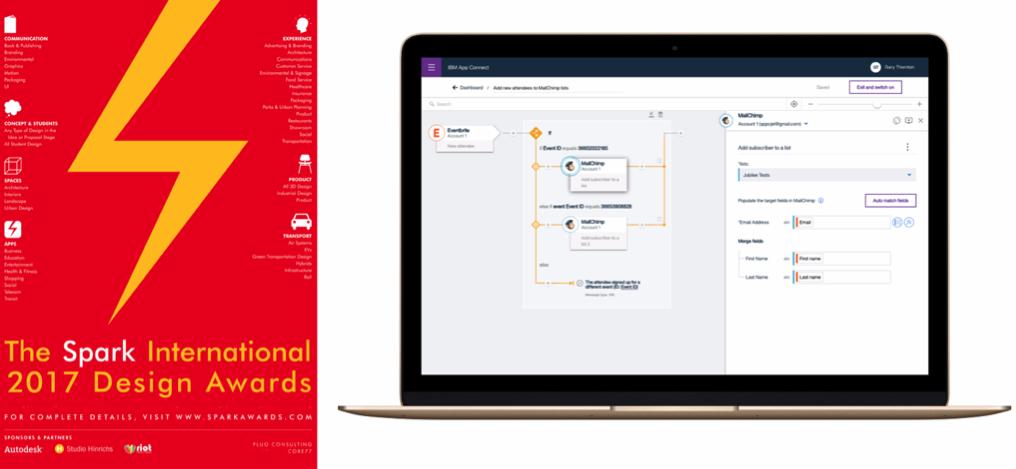 IBM App Connect 榮獲Spark International 20...