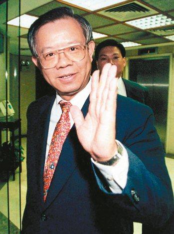 彭淮南1998年就任央行總裁。 報系資料照