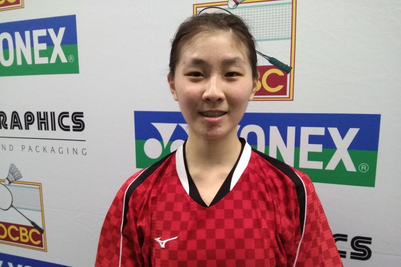 林湘緹參加國際挑戰賽2連勝晉級女單8強,她說,才跨入成人賽領域,最需要加強心態調...