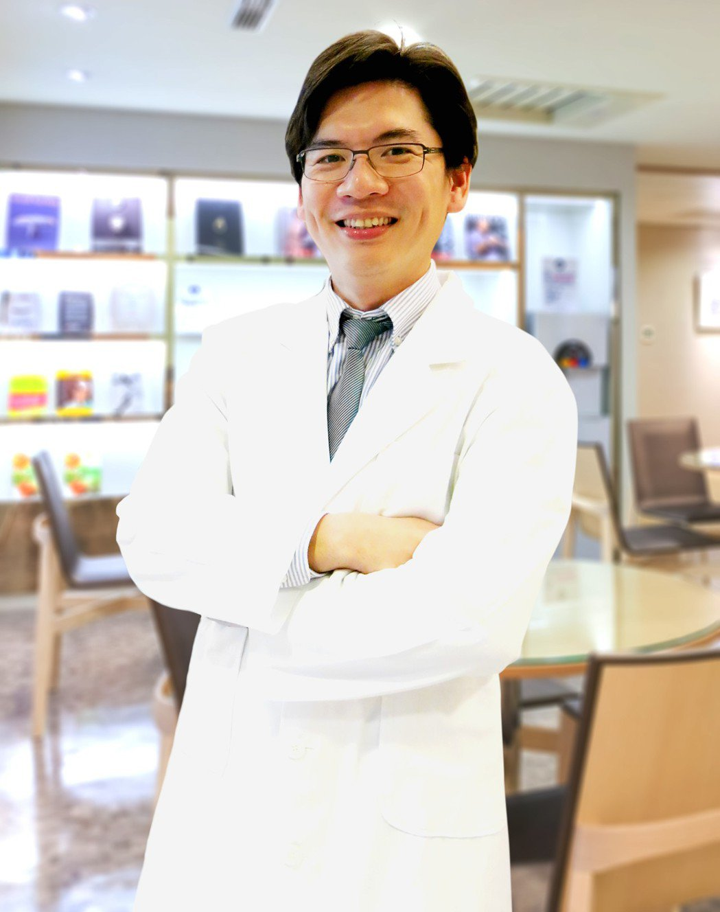 聯安預防醫學機構王峰醫師。聯安/提供