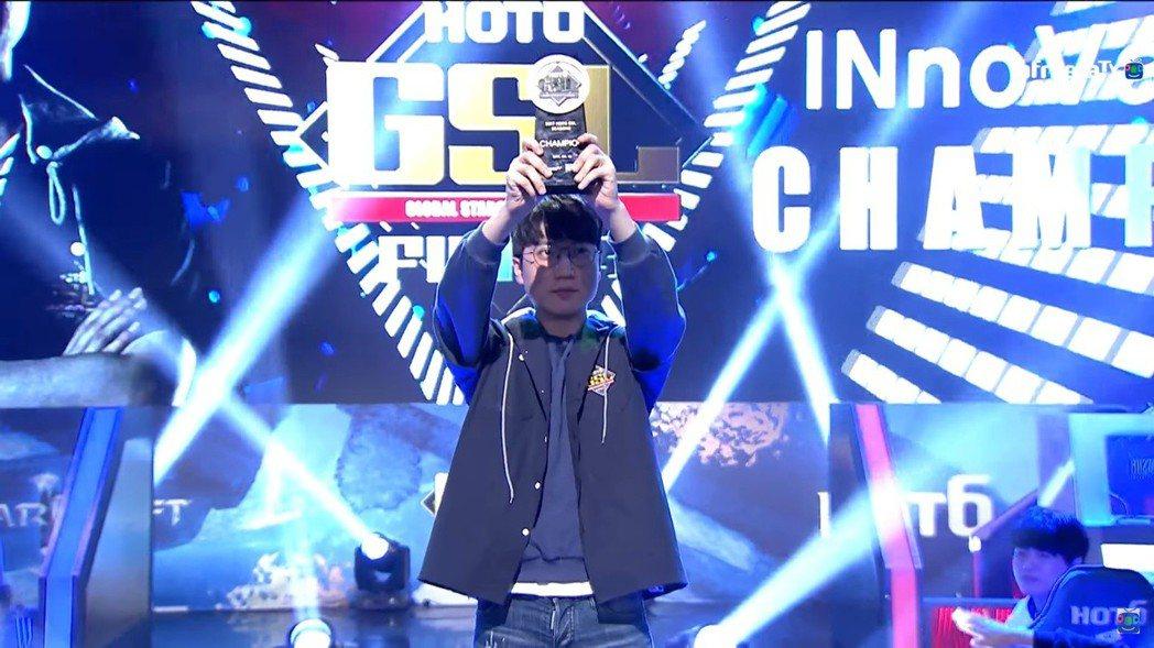《2017 GSL S3》 冠軍 李信恆(INnoVation)選手
