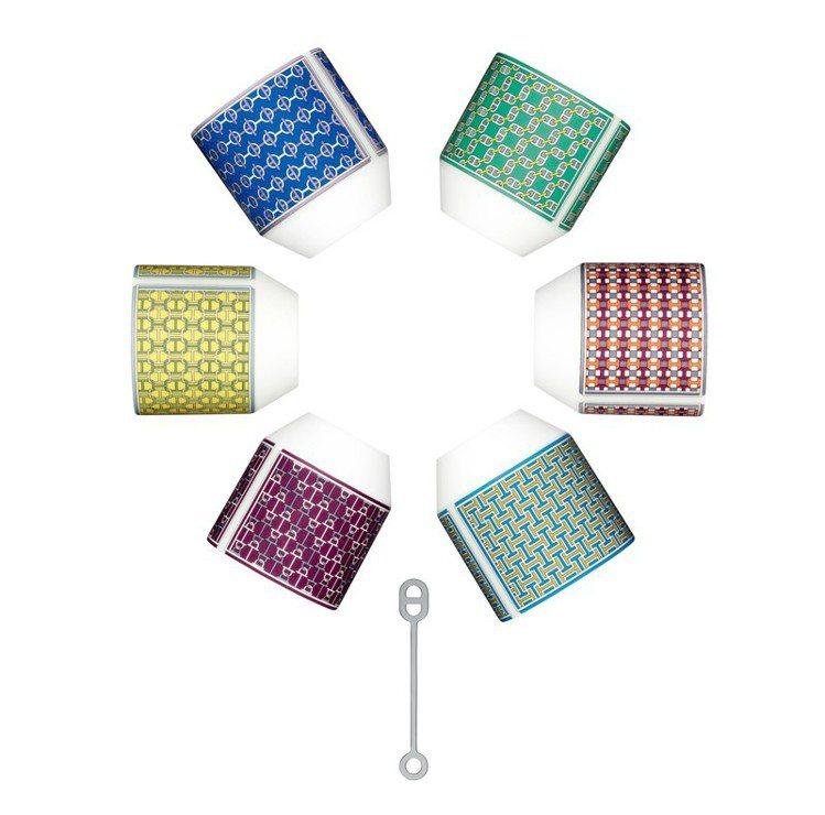 愛馬仕餐瓷 Tie Set 系列矮口杯;售價3,450。 圖/Hermes 提供
