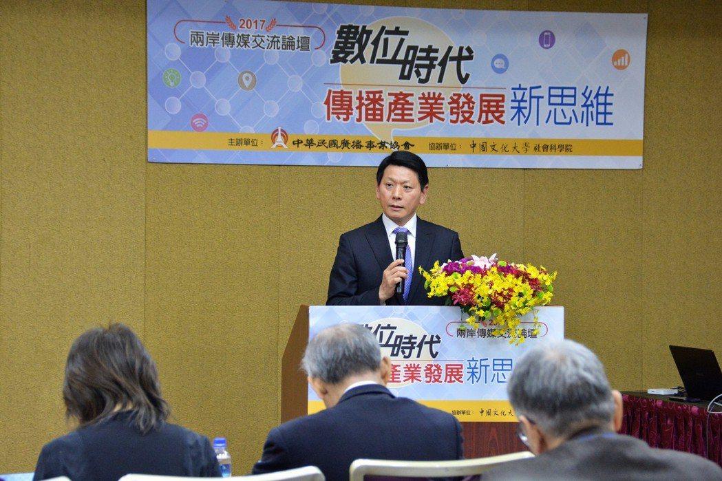 中華民國廣播事業協會理事長劉本善談正聲廣播公司對新媒體平台經營策略與作法。