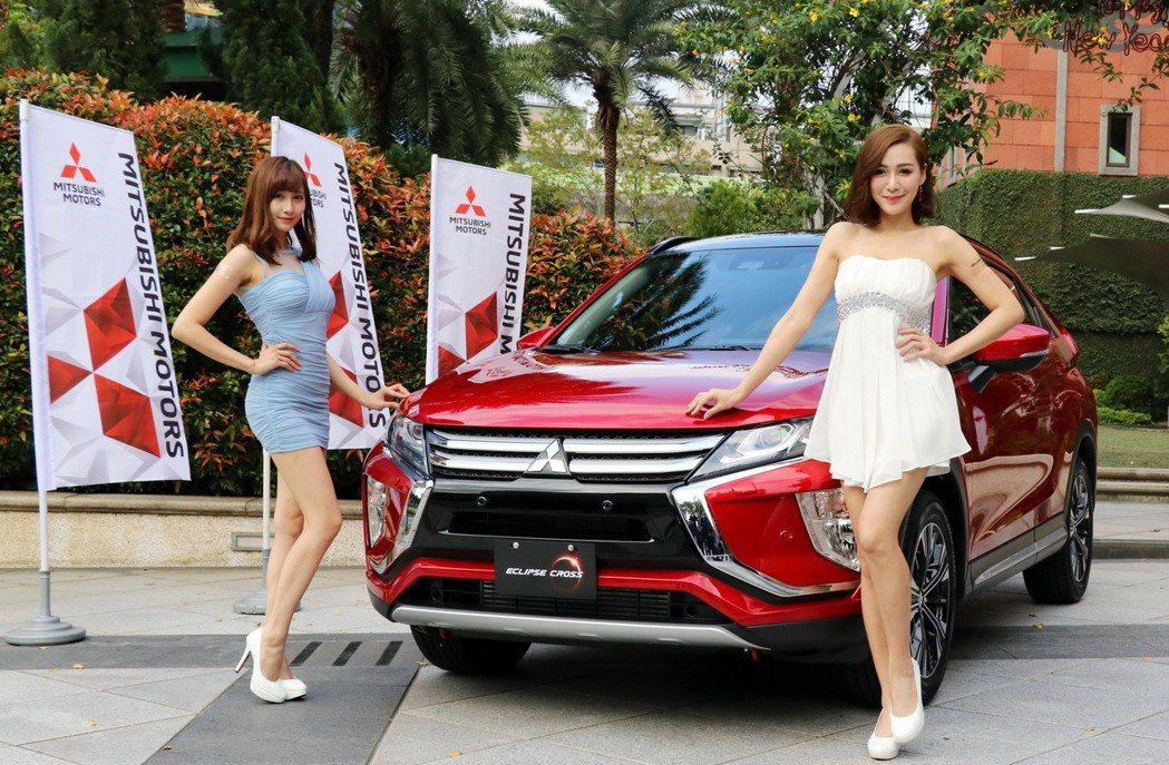 中華三菱發表日本原裝進口跨界跑旅Eclipse Cross,三種車型售價從95.9萬到116.9萬。 記者陳威任/攝影
