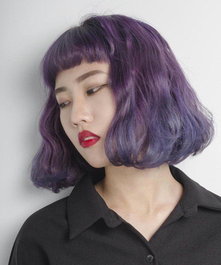 髮型創作/Andy(蔡子葵)。圖/HairMap美髮地圖提供