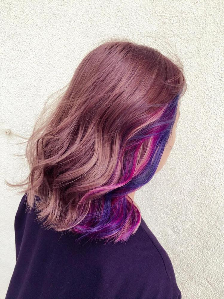 髮型創作/Elaine Wu。圖/HairMap美髮地圖提供
