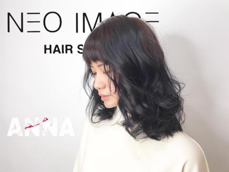 髮型創作/Anna Xie。圖/HairMap美髮地圖提供