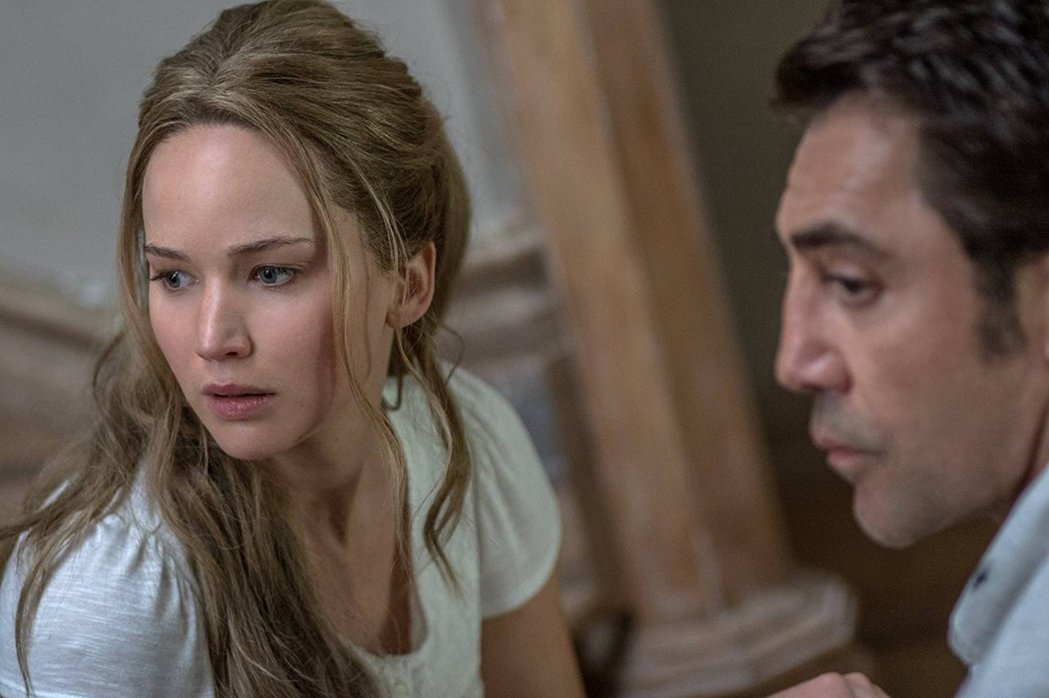 珍妮佛勞倫斯在「母親!」 賣力演出,無奈票房數字不理想。圖/摘自imdb