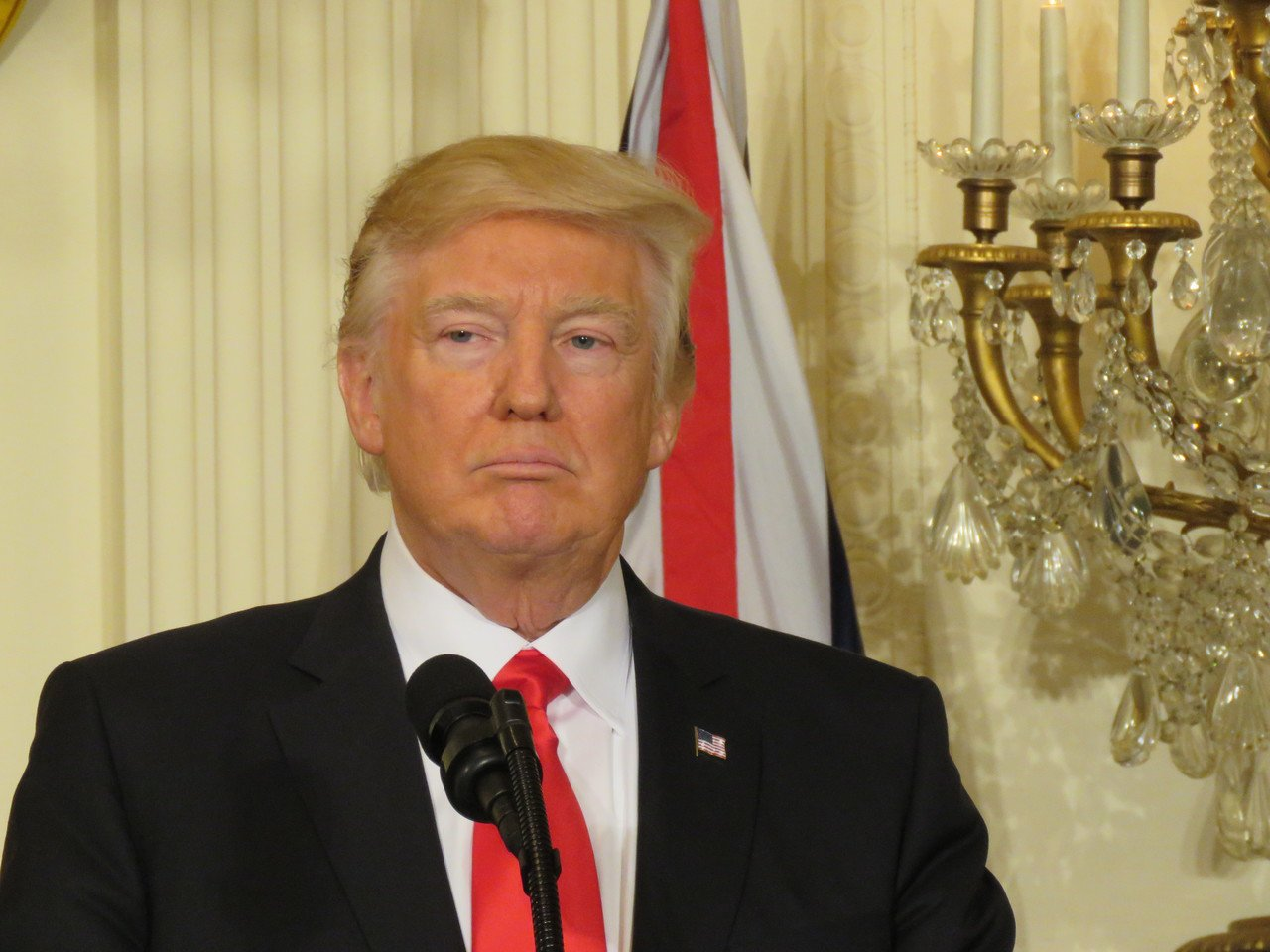 美國總統川普。聯合報系資料照片