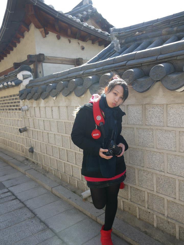 小怡生病前身材保持很好,也喜歡四處旅遊拍照,留下可愛逗趣照片。圖/小怡提供