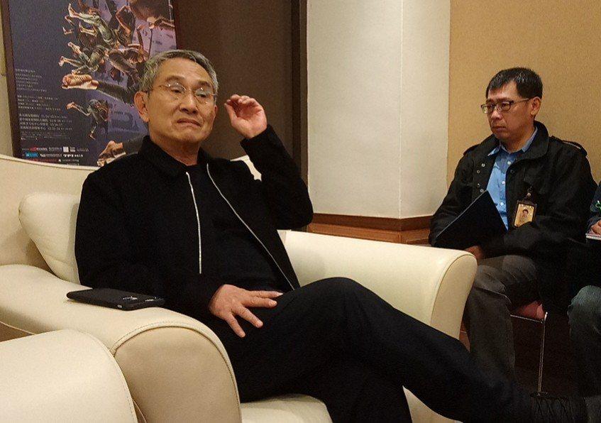 林懷民強調,台灣在美學教育上仍需要加強。記者卜敏正/攝影
