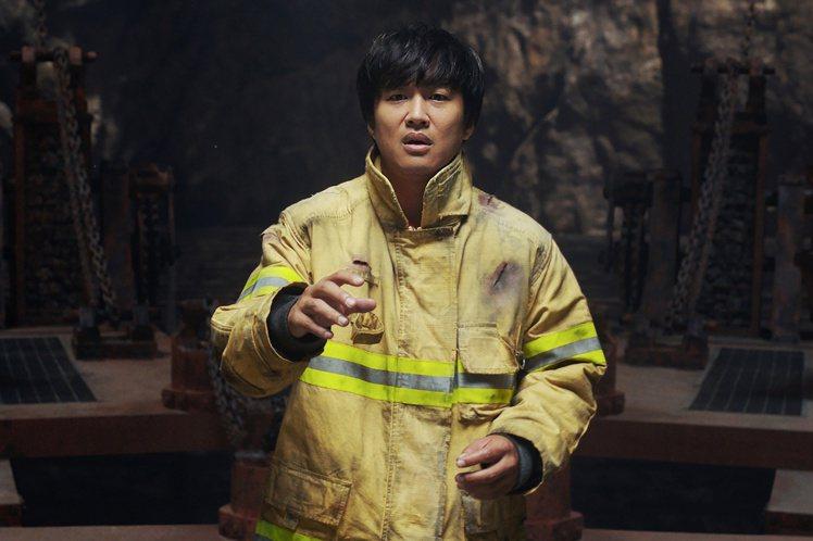 車太鉉在「與神同行」中演出搶眼。圖/采昌國際多媒體提供