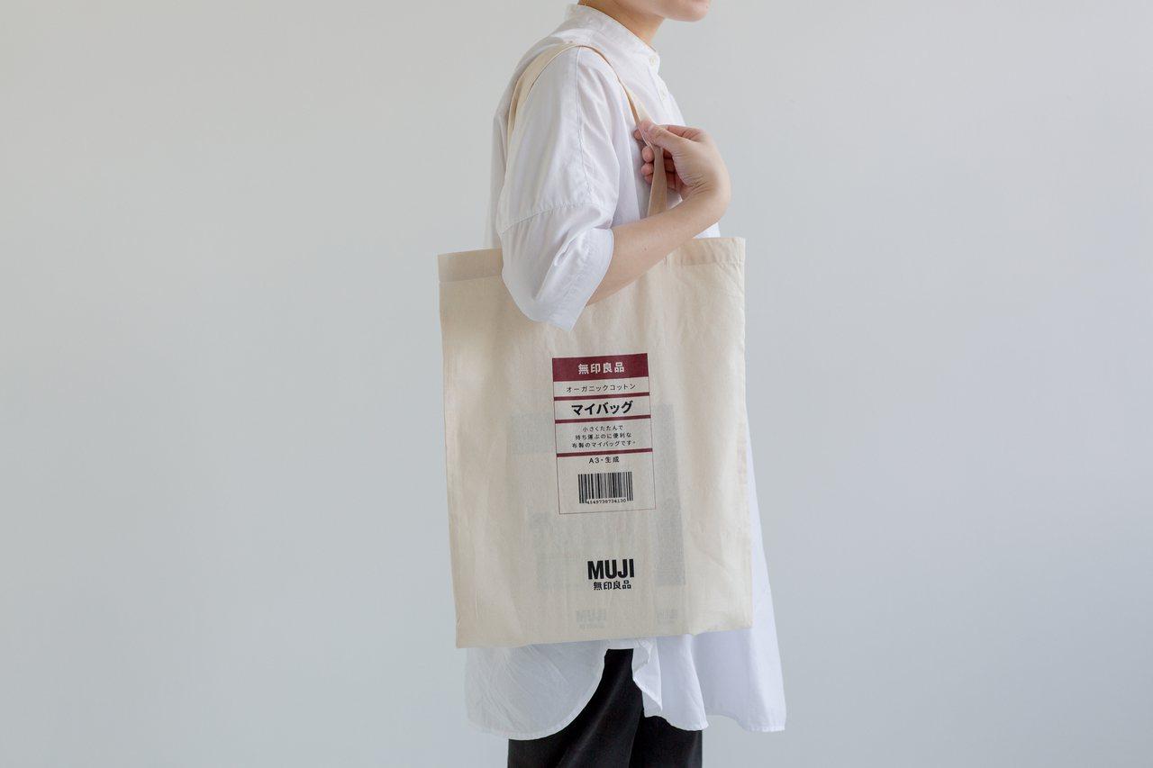 即日起至1月2日,單筆消費滿399元即贈MY BAG一個。圖/無印良品提供