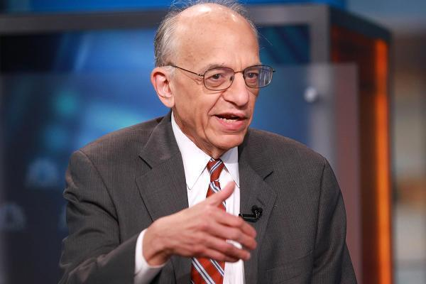 華頓商學院財金教授辛格爾(Jeremy Siegel)。圖/取自CNBC網站