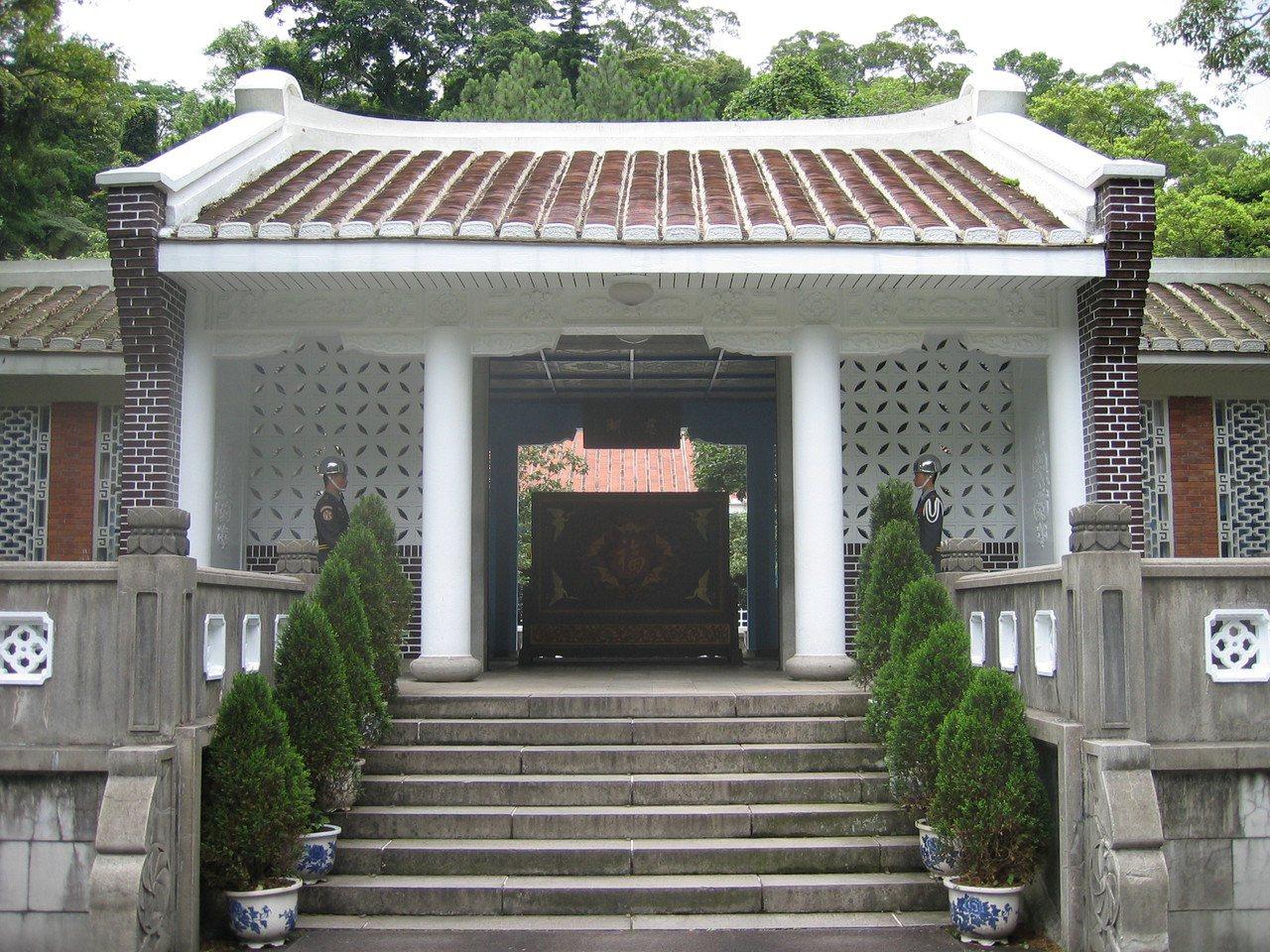 慈湖蔣公陵寢。圖/維基百科