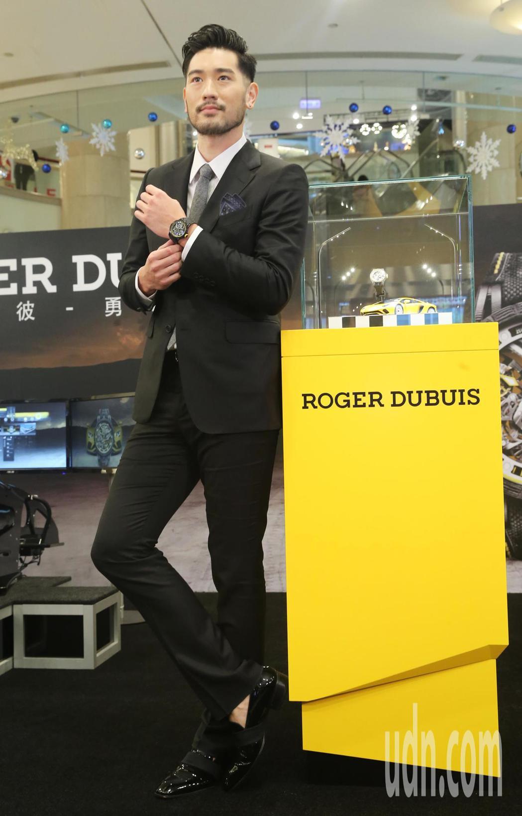 高以翔擔任ROGER DUBUIS「卓絕機械 桀驁馳騁」台北101錶展開幕嘉賓。...