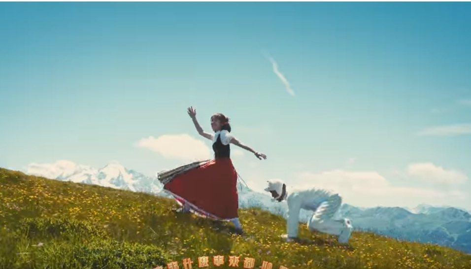 Lulu在去瑞士拍的「倒霉農場」MV裡,有一幕後面出現人扮的山羊,那羊,就是導演...