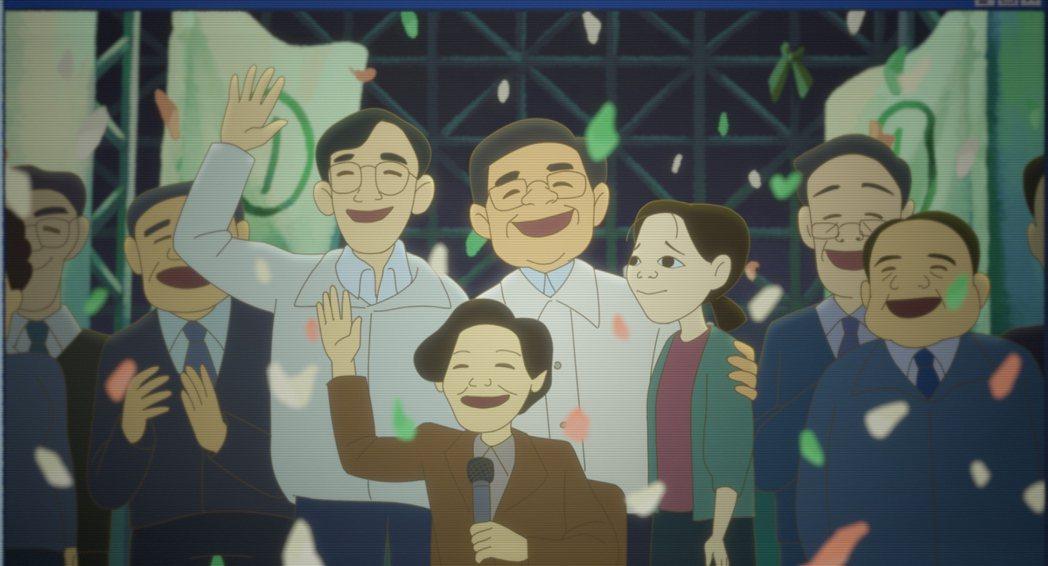 阿翰為「幸福路上」一人配音六個角色。圖/傳影互動提供