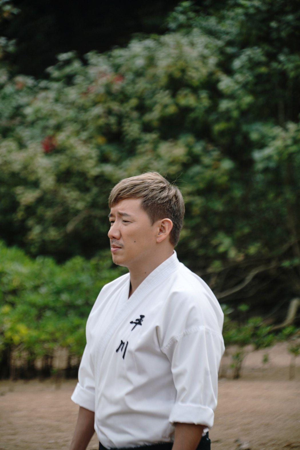 杜汶澤自編自導自演新片「空手道」,同時兼任武術指導。圖/甲上提供
