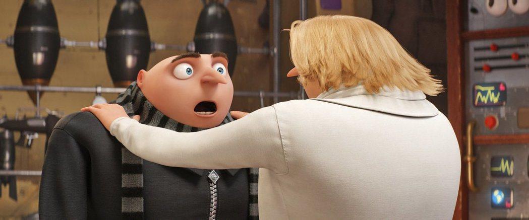 「神偷奶爸3」是今年全球最賣座的卡通動畫。圖/摘自imdb
