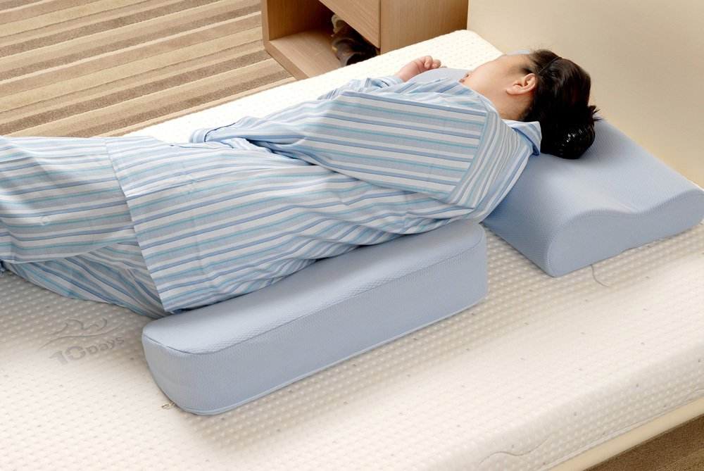 TENDAYS為長者設計的Health Care健康照護背部側睡介護支撐枕。圖/...
