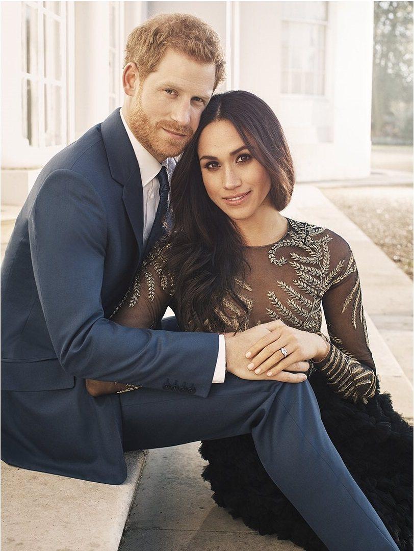 英國哈利王子和美國女星梅根馬可預計明年5月完婚。圖/摘自肯辛頓宮官方推特
