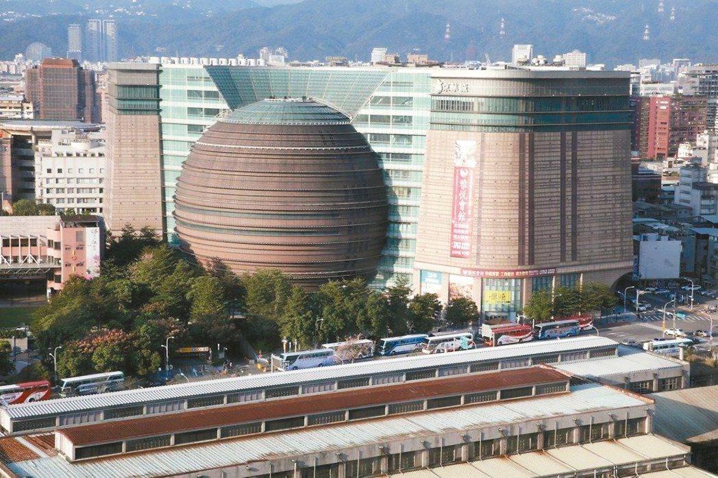 京華城外觀。 本報系資料庫