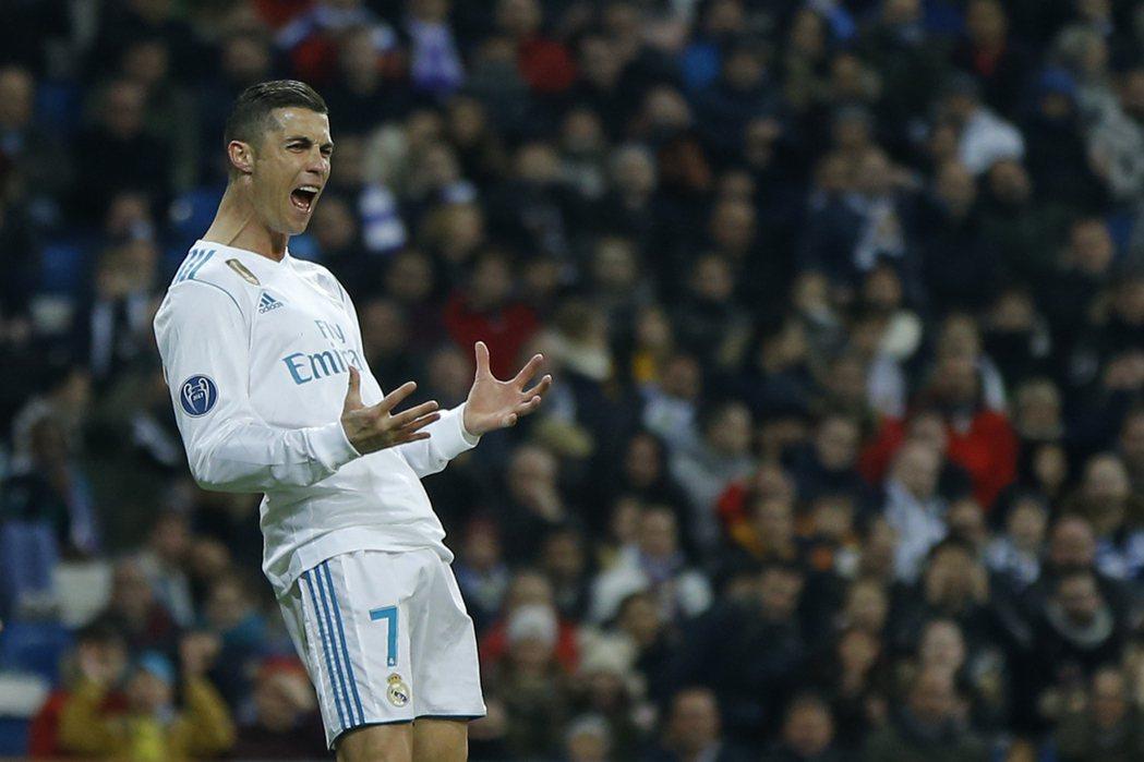 C羅納度日前在接受法國媒體採訪時表示,「我就是足球史上最好的球員」。 美聯社