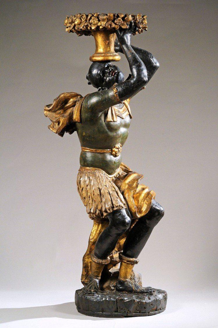 黑人藝術(blackamoor art)是個爭議性的藝術題材。圖/擷自nyu.e...