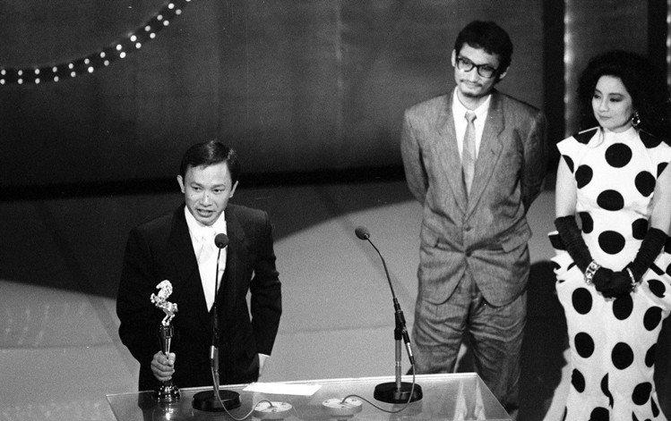 第二十三屆電影金馬獎吳宇森以英雄本色獲得最佳導演。圖/聯合報系資料照