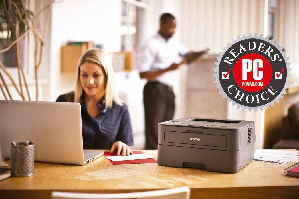 Brother印表機再次獲得PCMag企業票選獎項。 Brother/提供