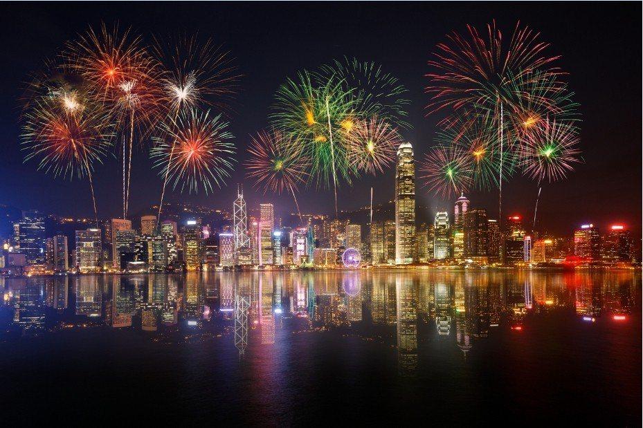 香港煙火! 燦星旅遊/提供