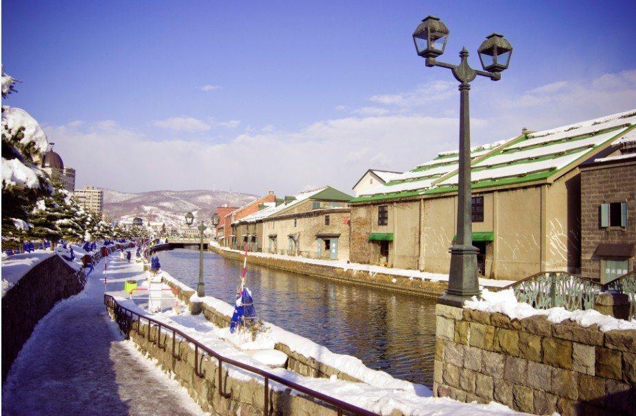北海道小樽運河。 燦星旅遊/提供