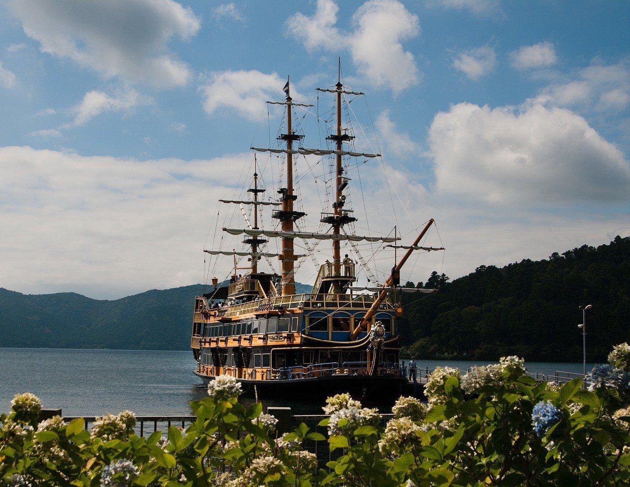 ▲箱根海盜船。(圖/擷取自網路)